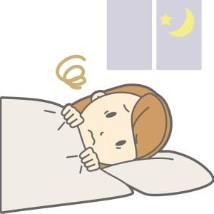 寝つき悪い